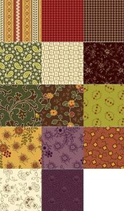 Harvest Cozies fat quarters