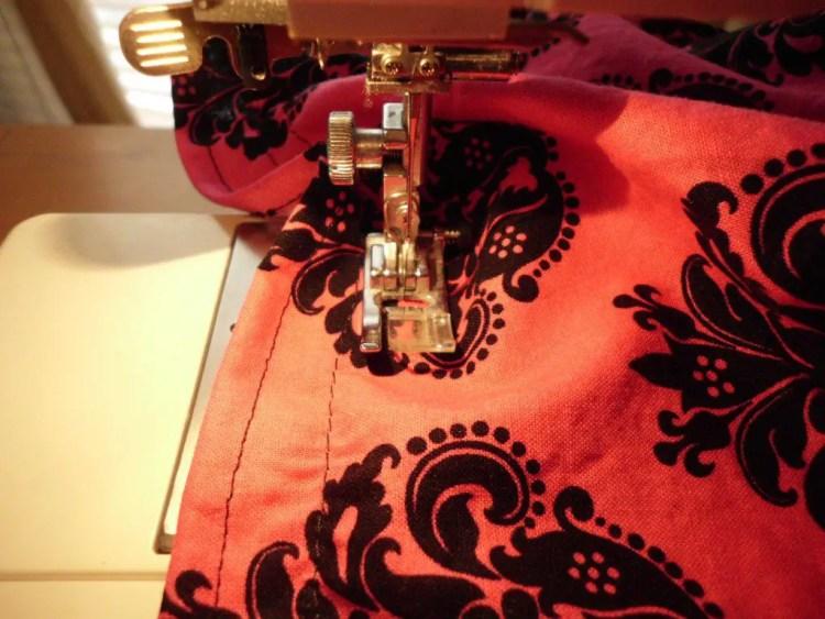 How to Use Elastic Thread to Make Smocked Fabric SANY0770