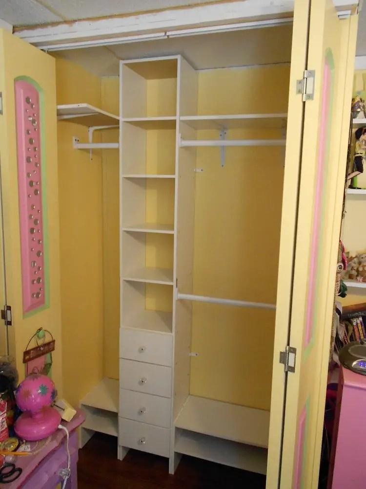 Customizing a Closet Organizer – Designs by Studio C