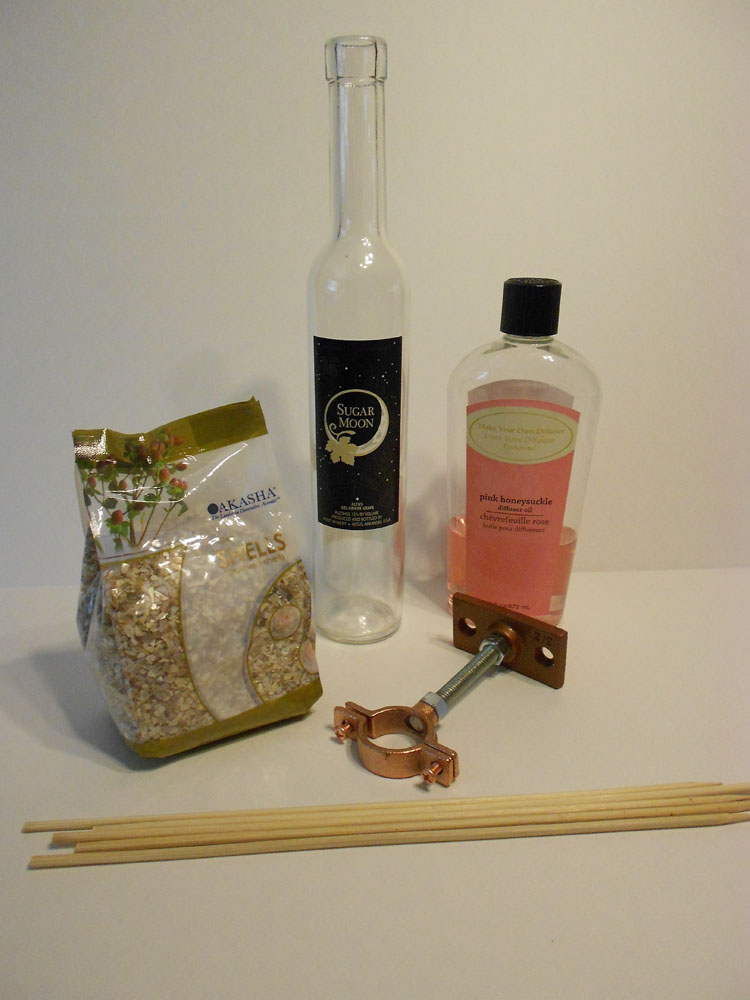 How to Make a Fragrance Diffuser with a Wine Bottle DSCN0584