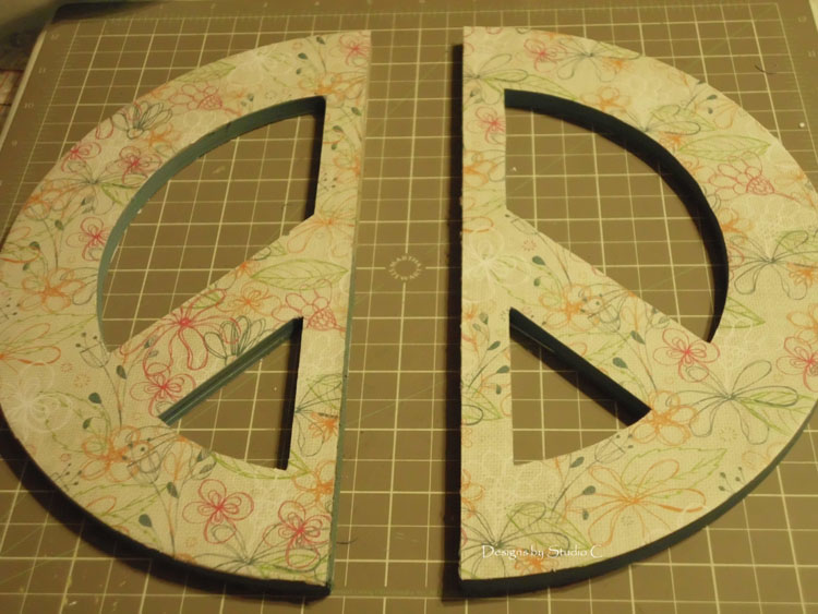 How to Make Peace Bookends SANY0996