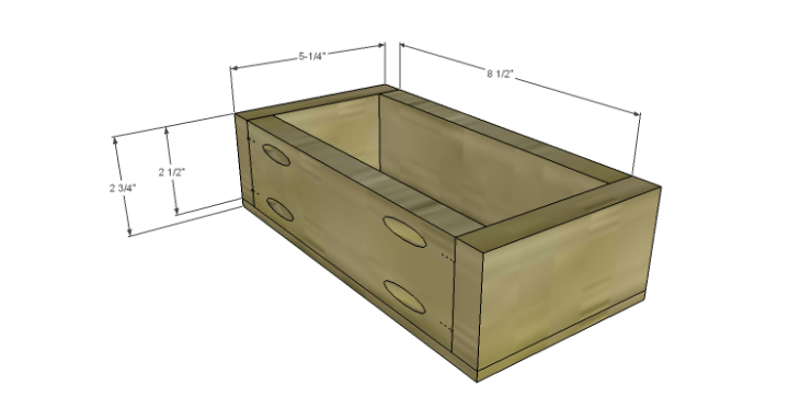 Plans to Build a Grandin Road Inspired Chloe Chest_Center Drawer