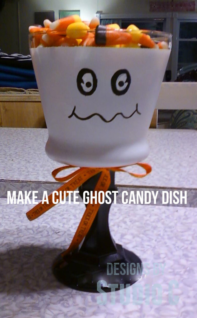 How to Make a Cute Ghost Candy Dish Photo10020654 copy