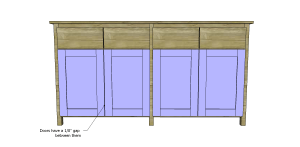 Plans to Build a Slim Sideboard 12