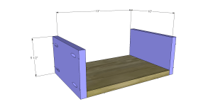 Plans to Build a Slim Sideboard 8
