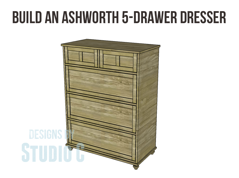 Free Plans To Build A Pier One Inspired Ashworth 5 Drawer Dresser_copy