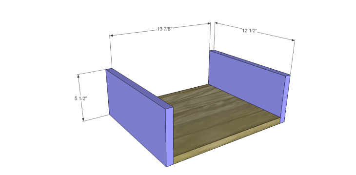Free Plans to Build a Pier One Inspired Ashworth 5-Drawer Dresser_Sm Drawer BS