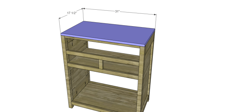 Free Plans to Build a Grandin Road Inspired Adele Wine Cabinet 9