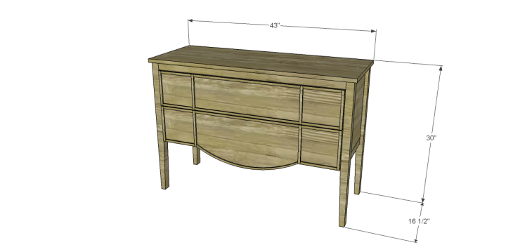free furniture plans build gustavian console