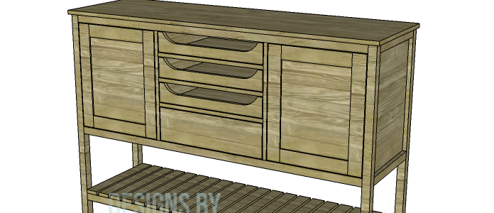 A Sideboard To Serve All Storage Needs