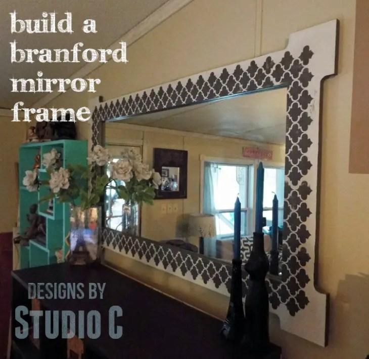 Free Plans to Build a Joss & Main Branford Mirror Frame DSCF1958