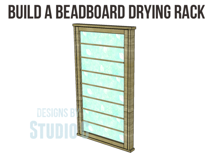 Free Plans to Build a Beadboard Drying Rack Med