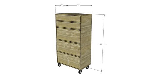 Free Plans to Build My Awesome Tool Cabinet 2
