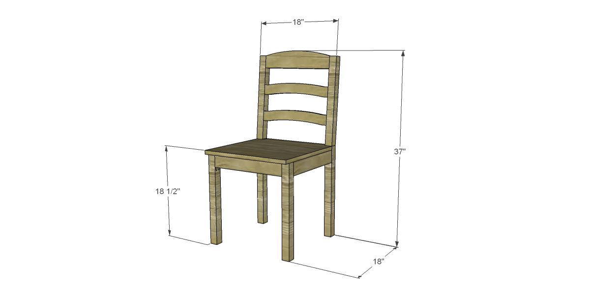 Free Plans to Build a Dining Chair (#1) – Designs by Studio C