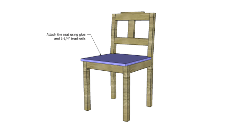 Free Plans to Build a Dining Chair 3_Seat 2