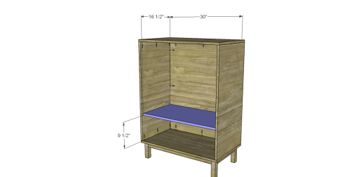 Free Plans to Build a CB2 Inspired Stash Chest_Shelf