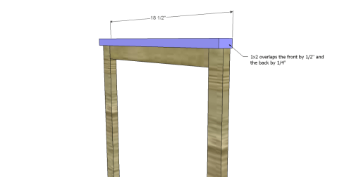 Free Plans to Build an Apple Art Easel_Top Trim