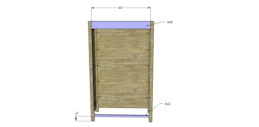 Free Plans to Build a 19th Century American Wardrobe_Front Stretchers