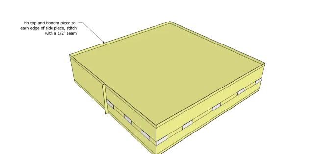 How to Make a Basic Box Cushion 5