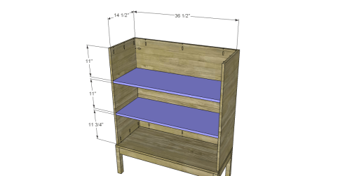 Free Plans to Build a Viva Terra Inspired Tradewinds Armoire_Shelves