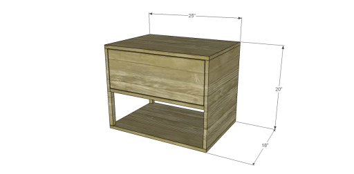 Free Plans to Build a One Kings Lane Inspired Harrison End Table