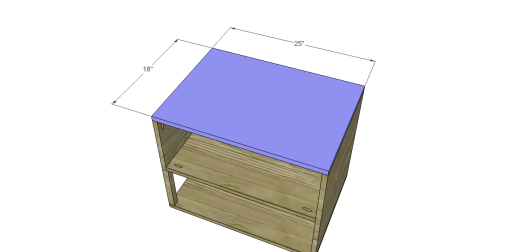 Free Plans to Build a One Kings Lane Inspired Harrison End Table_Top