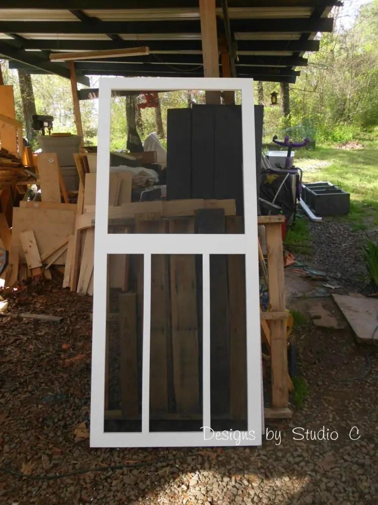 Build A Screen Door
