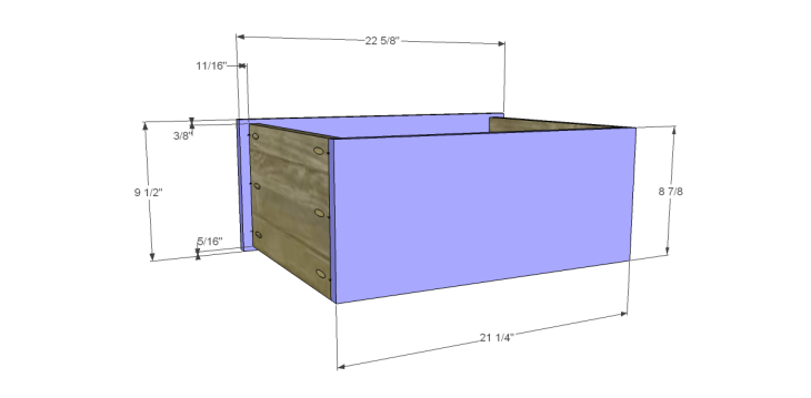 Free DIY Plans to Build a One Kings Lane Inspired Trix Media Cabinet (Large)_Drawer FB