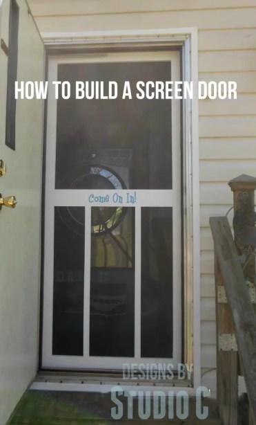 how to build a screen door 2104