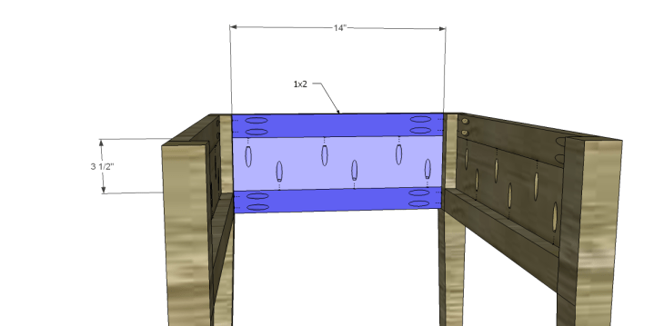 free plans to build a joss main inspired banyan end table_Back