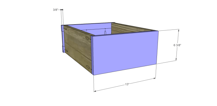 free plans to build a joss main inspired banyan end table_Drawer FB