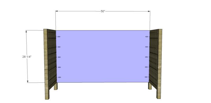 free plans to build a world market inspired garner sideboard_Back