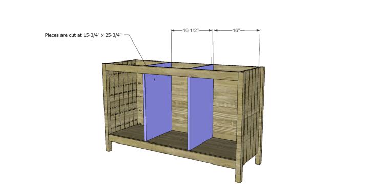 free plans to build a world market inspired garner sideboard_Dividers
