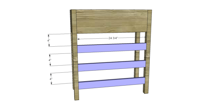 free plans to build a joss main inspired julius wine table_Bottle Shelf Backs