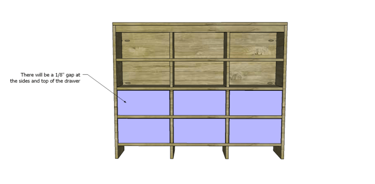 free DIY woodworking plans to build a Nantucket Chest_Drawer Fronts