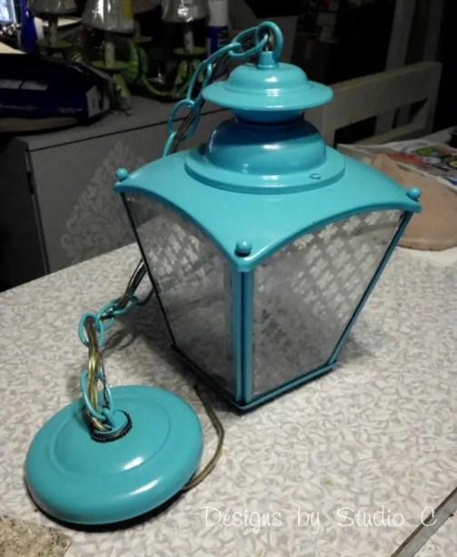brass light fixture DIY update SANY2345