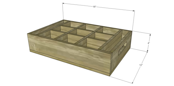 free DIY woodworking plans to build a saint-emilion tray