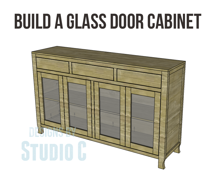Build A Glass Door Cabinet