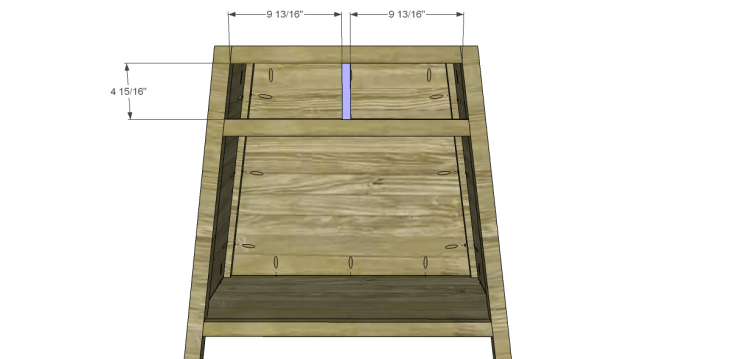free DIY woodworking plans to build an asian style cabinet _Drawer Divider