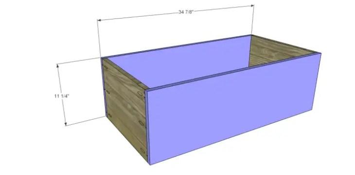 free DIY woodworking plans to build a greek key dresser_Drawer FB