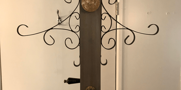 Free DIY Woodworking Plans To Build A Coat Rack Post Impressive Bronze Coat Rack Crate Barrel