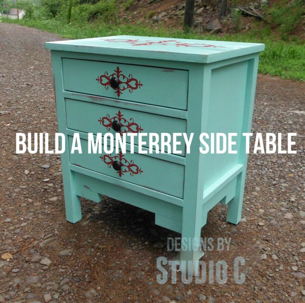 free DIY woodworking plans to build a monterrey side table SANY2471