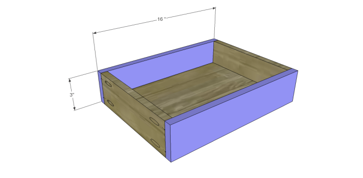 free DIY woodworking plans to build a monterrey side table_Drawer FB