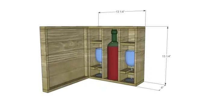 build wine bottle gift box