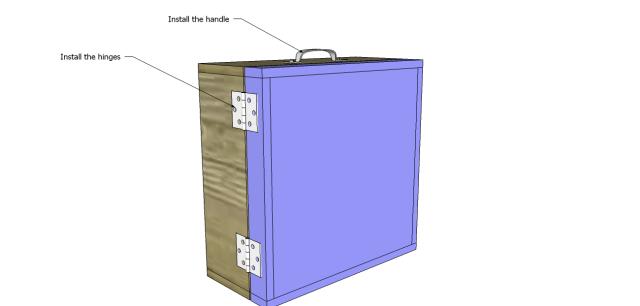 diy wood wine gift box_Door 2