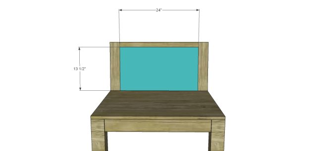 wood chair plans - low slung_Chair Back