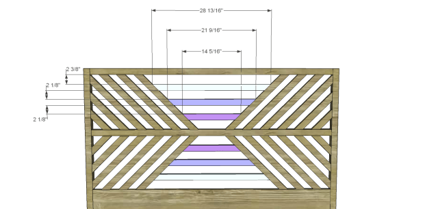 diy bed plans - diagonal QBed_Headboard 4