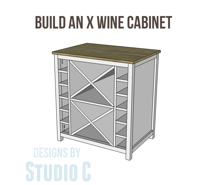 how to build a wine cabinet plans