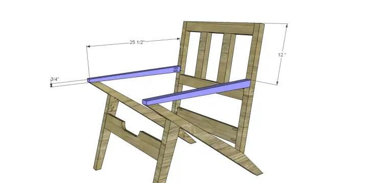 Charmant Mid Century Modern Design Chair Plans_Arms