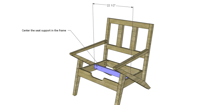 mid century modern design chair plans_Seat Support